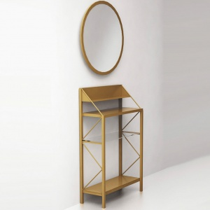 "Console table of brass ""Basics"""