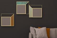 """Mirror wall """"Vittoria"""" (MA 07-R) in the interior"""