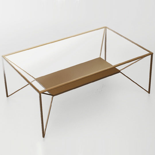 "Coffee table ""Weightlessness"""